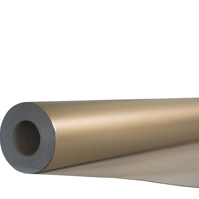 Rouleau de papier nacre or 50m x 70cm