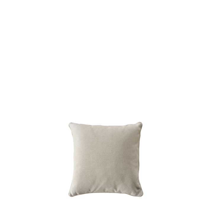 Pillow for outdoor use with removable lining linen colour 50 x 50 cm