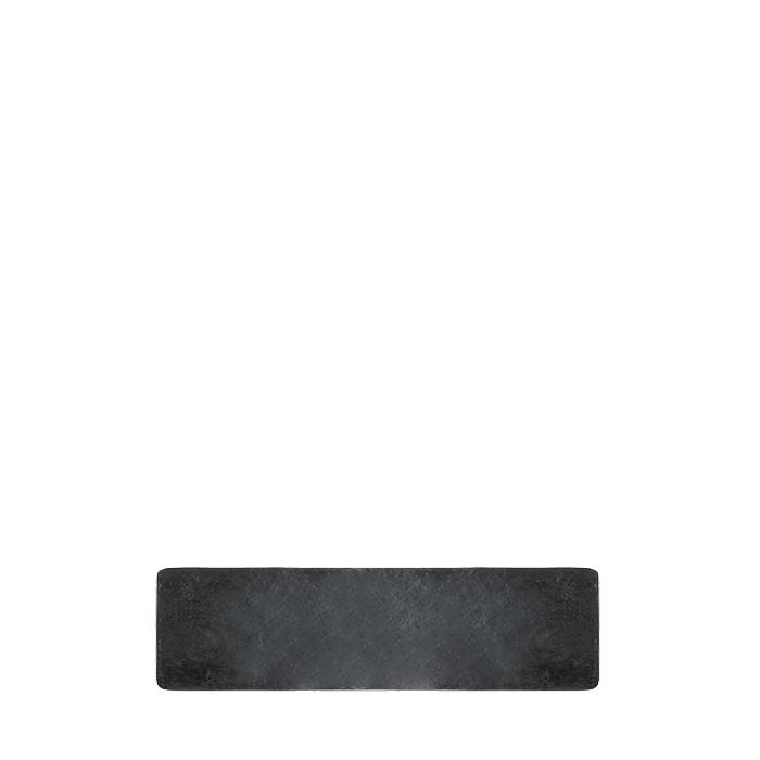 Vassoio in resina colore nero 48 x 12 cm