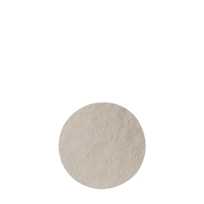 Small round tablemat in artificial stone light colour d23 cm