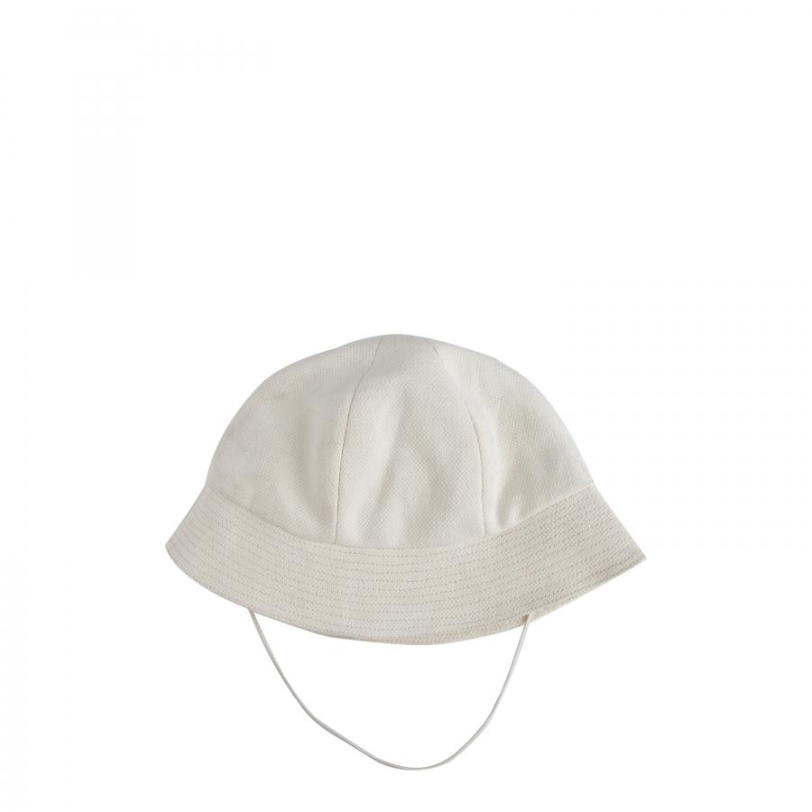 Baby cap cotton cream color 4 years