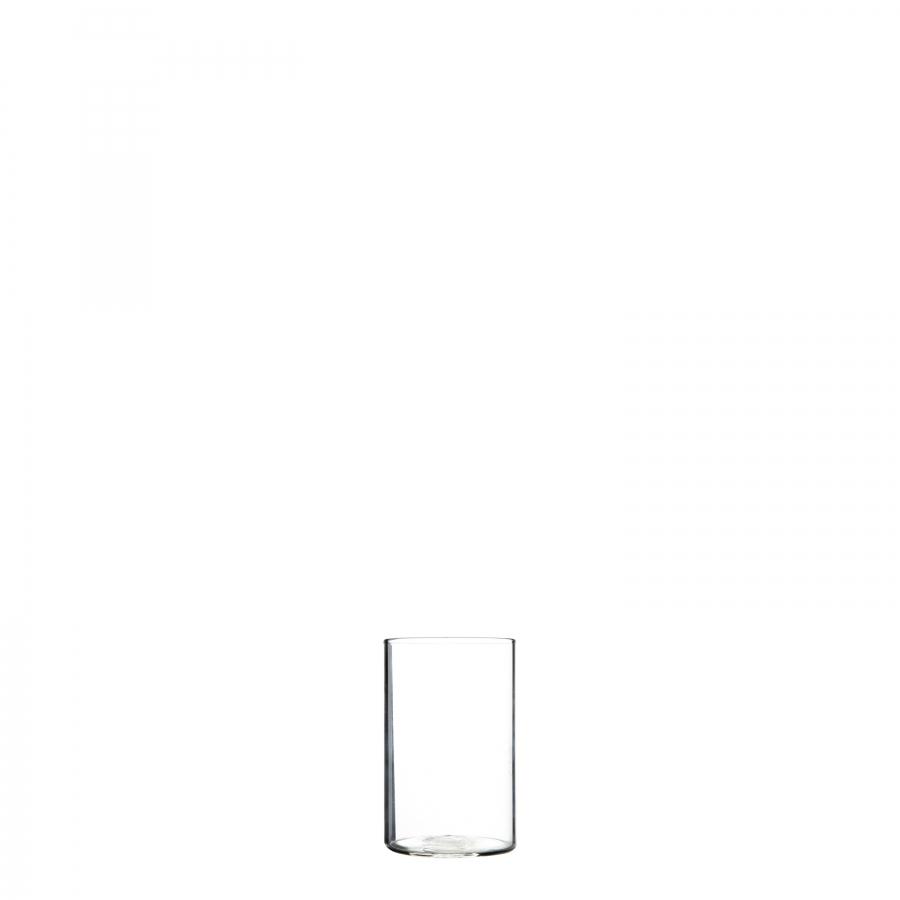 Confezione 4 vasetti cilindrici trasparenti d5.5 h8 cm