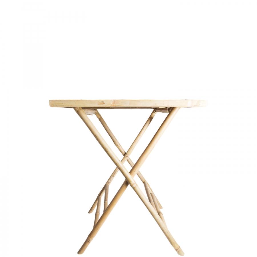 Petit table en bambou
