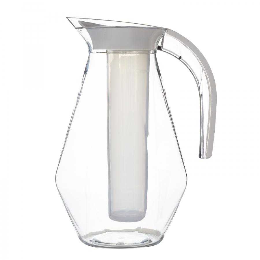 Carafe en methacrylate avec cylindre refrigerateur h 30cm