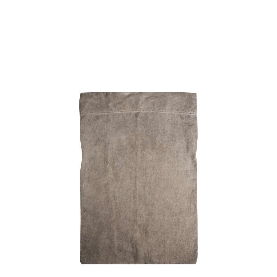 Housse marron 50% cotton 50% linen