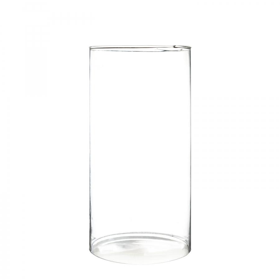 Tubo in vetro borosilicato d14 h27 cm