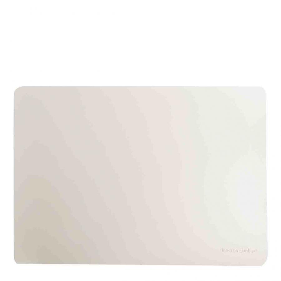 Tovaglietta similpelle off white 32 x 45 cm