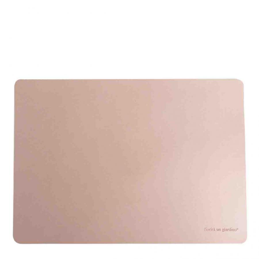 Tovaglietta similpelle cipria 32 x 45 cm