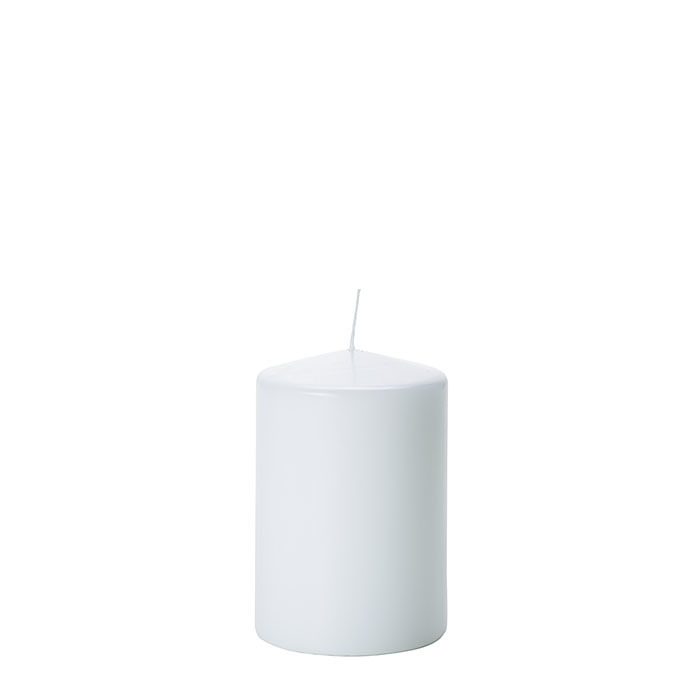 Pack of 4 candles white