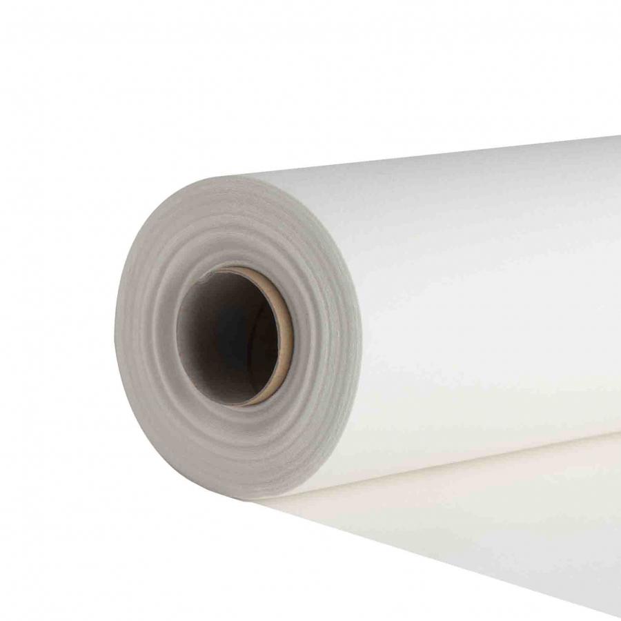 Rotolo tessuto compostabile pretagliato bianco 24m x 41 cm
