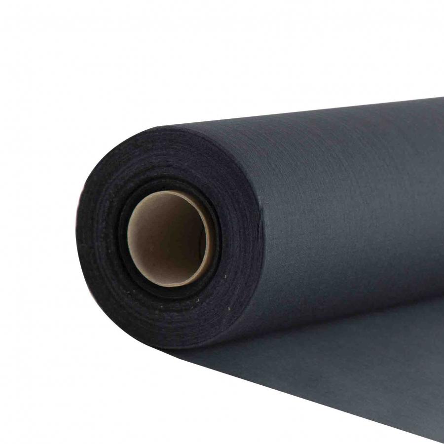 Black compostable precut paper roll 24m x 41 cm