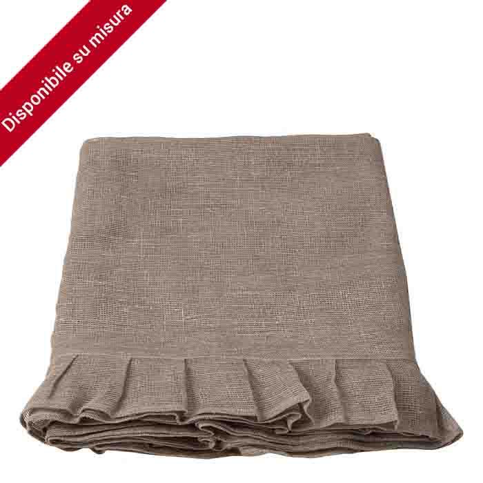 100% natural col. woven linen placemat 160 x 270 cm