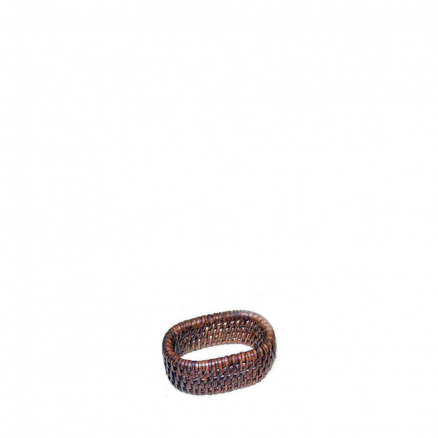 Wicker napkin ring