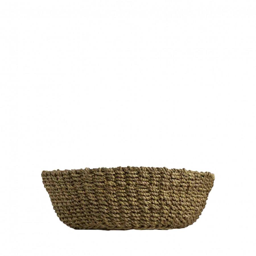 Abaca bowl linen colour d19 h7 cm
