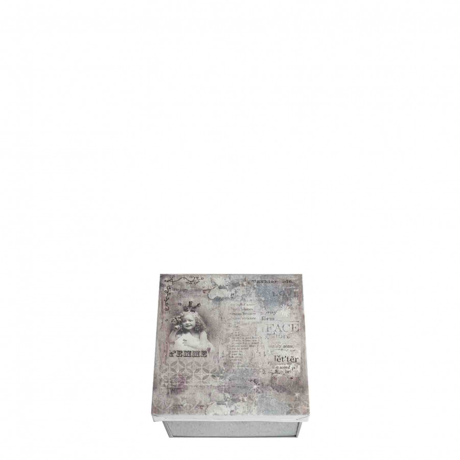 Box femme 13 x 15 h7.5 cm