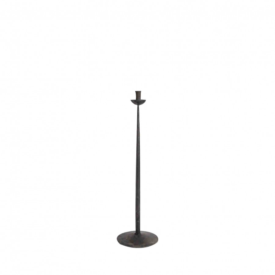 Black iron chandelier h30.5 cm