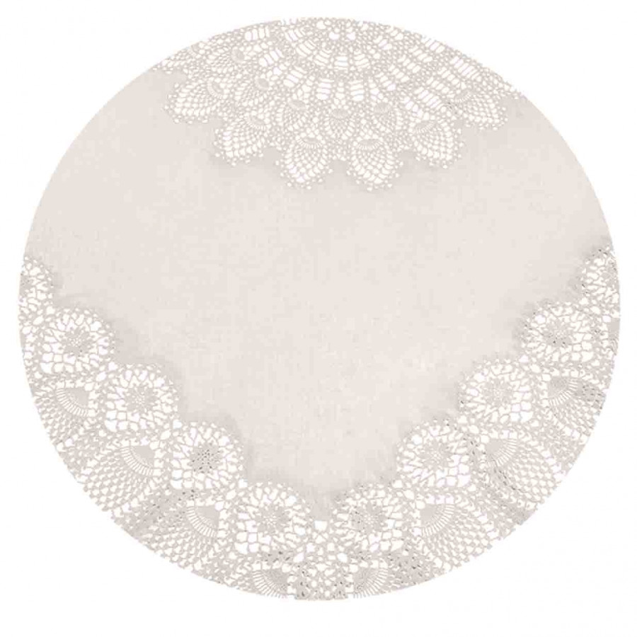 Round sand vynil lace tablecloth d178 cm