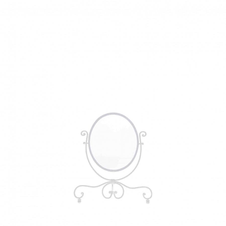 White snow white mirror 60x70 cm