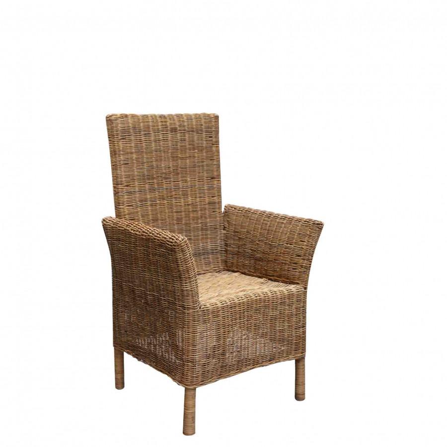 Wicker armchair 55x65 h100 cm