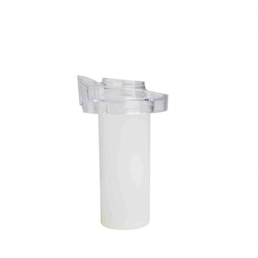 Glacette cylindrique + bouchon pour carafe ventrue v3 1 d18 h21 cm
