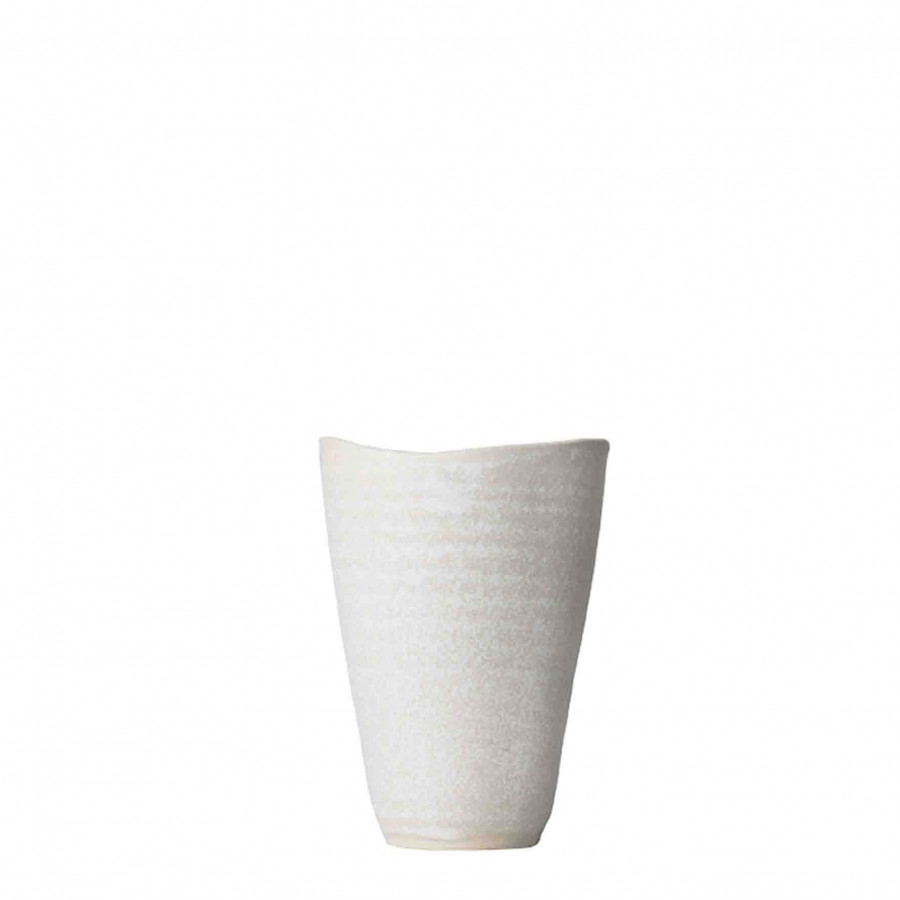Bicchiere gres acqua liscio h10 cm