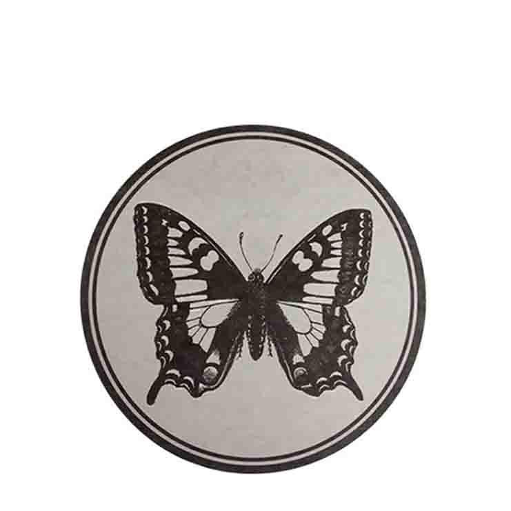 Sottopiatto fibra cellulosa farfalla impermeab d32 cm