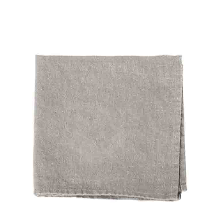 100% linen napkin natural colour 40x40 cm