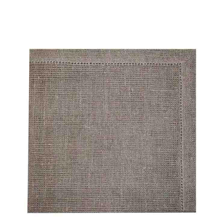 Serviette en reseau 100% lin 54 x 54 cm