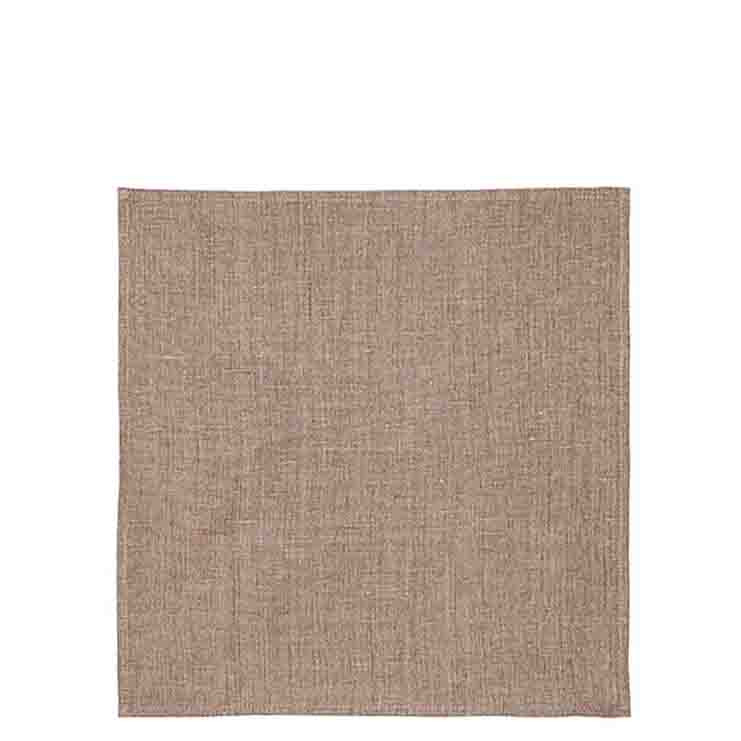 Serviette en 100%lin couleur naturel 40x40 cm