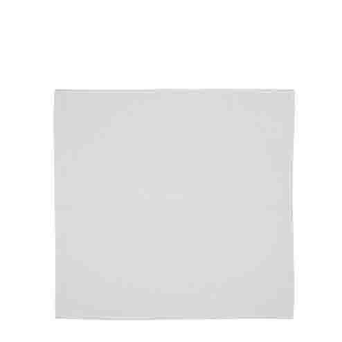 Serviette en coton fin couleur blanc 40 x 40 cm