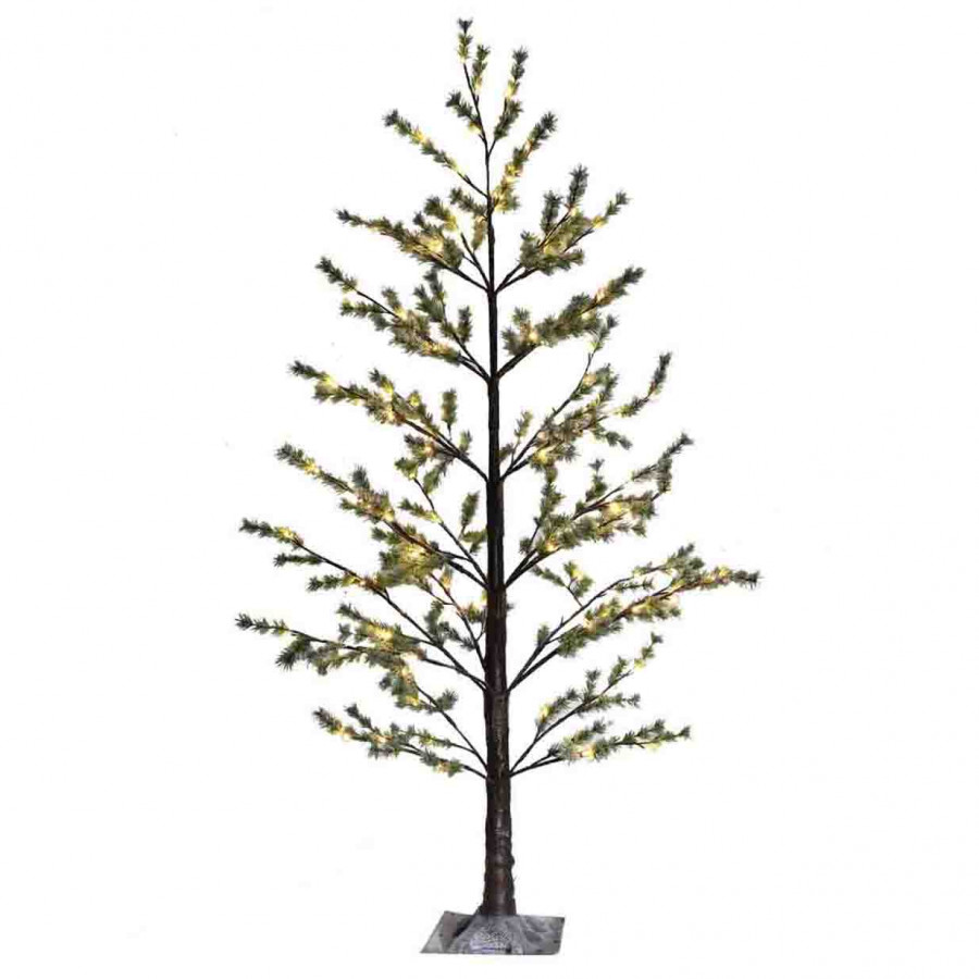 Snowy light tree 180 led out/indoor use h210 cm