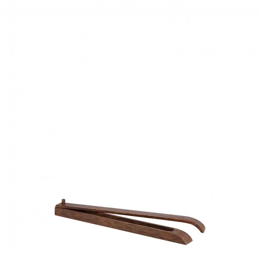 Portaincensi legno di cocco marrone 33 cm
