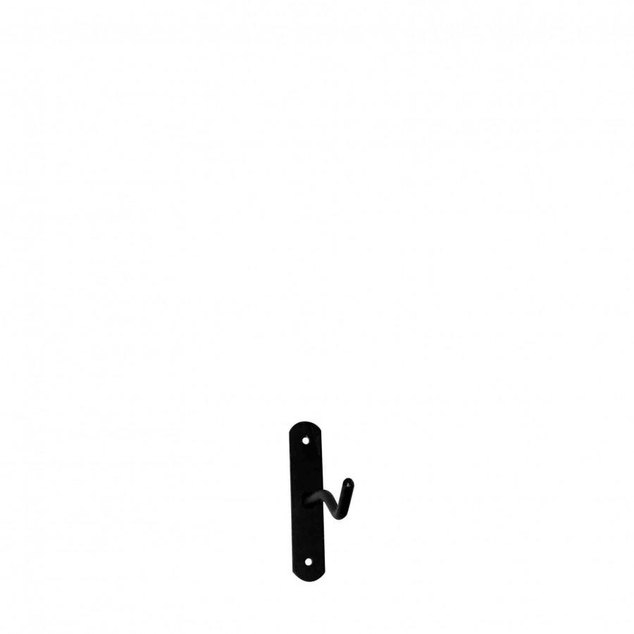 Gancio mini ferro nero h10 cm