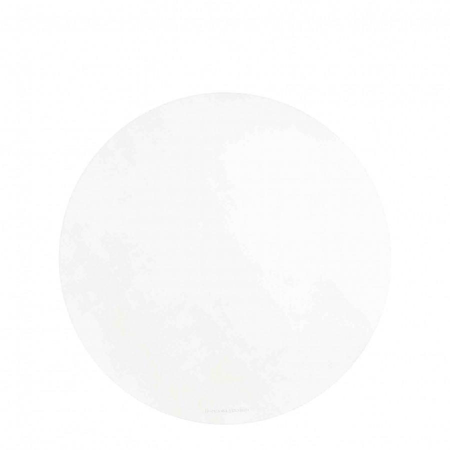 Sottopiatto similpelle bianca d33 cm