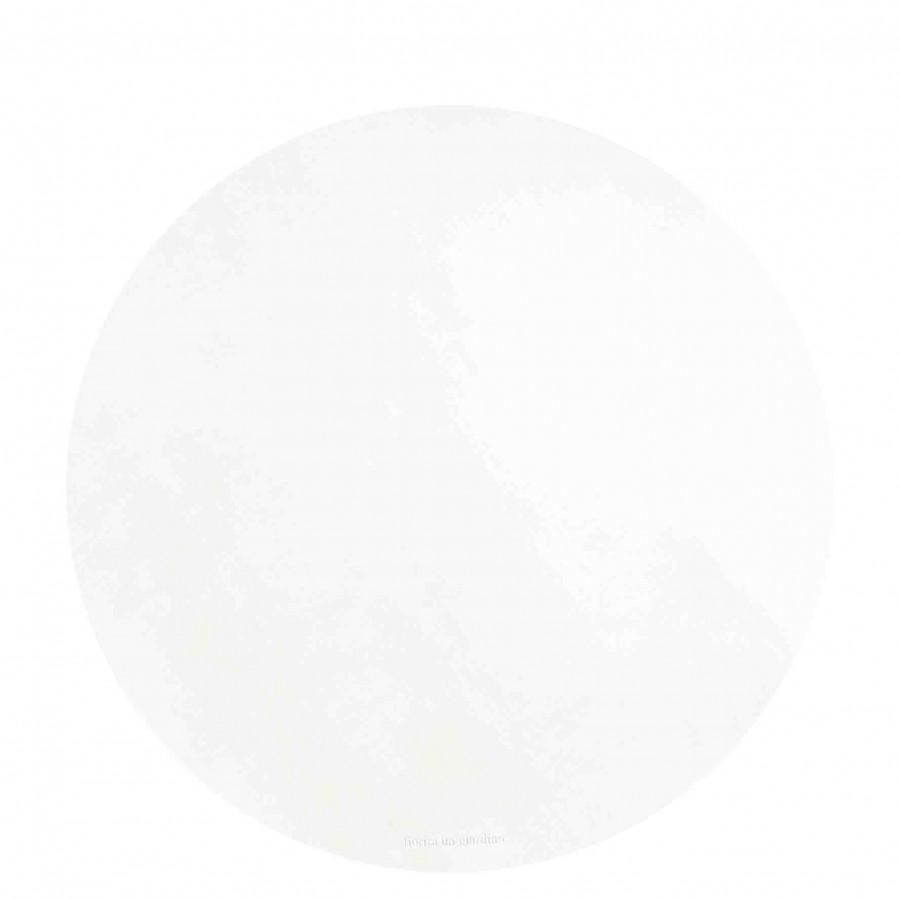 Sottopiatto similpelle bianca d38 cm