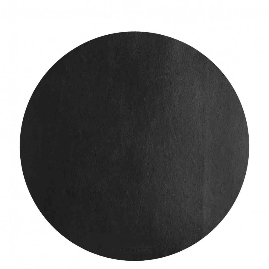 Sousplat en faux cuir cafe d38 cm