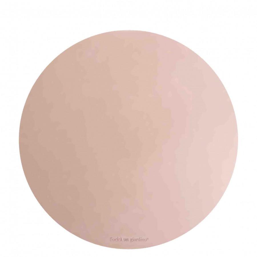 Sousplat en faux cuir poudre d38 cm