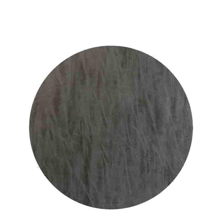 Sousplat en faux cuir carbon d33 cm