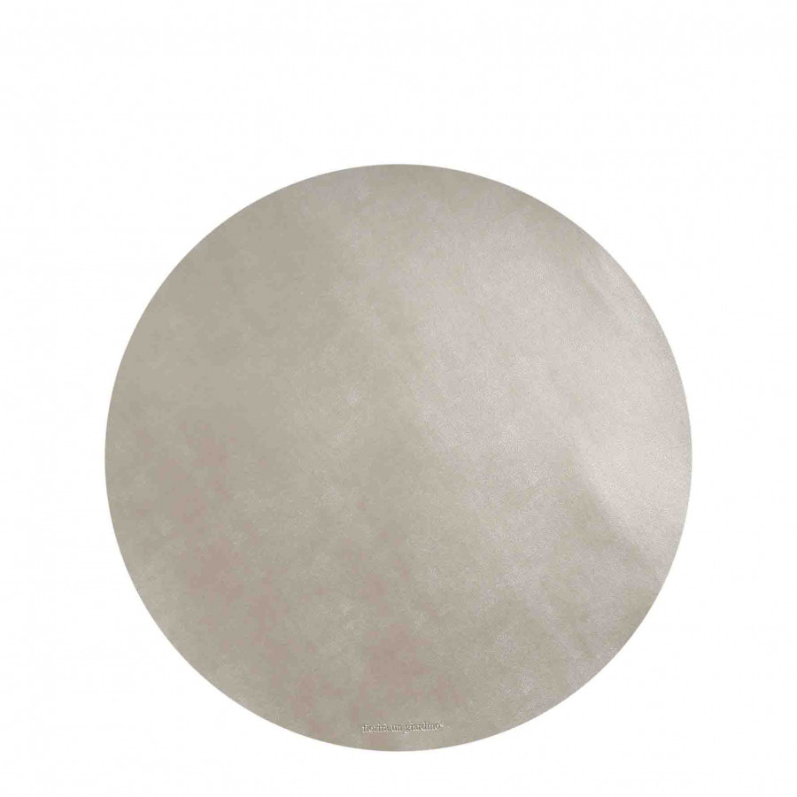 Pearl fake leather underplate d33 cm