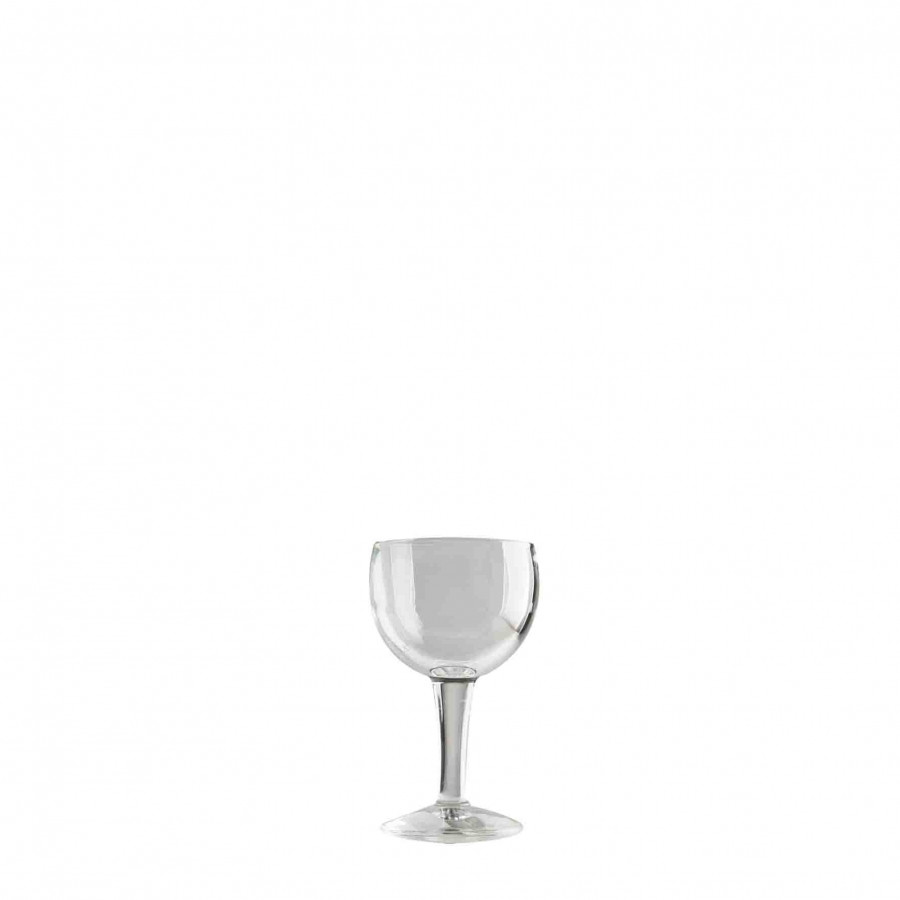 Calice acqua vetro spesso lineare d8.5 h15 cm