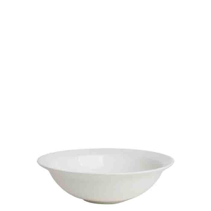 Bol en ceramique creme d25 h9 cm