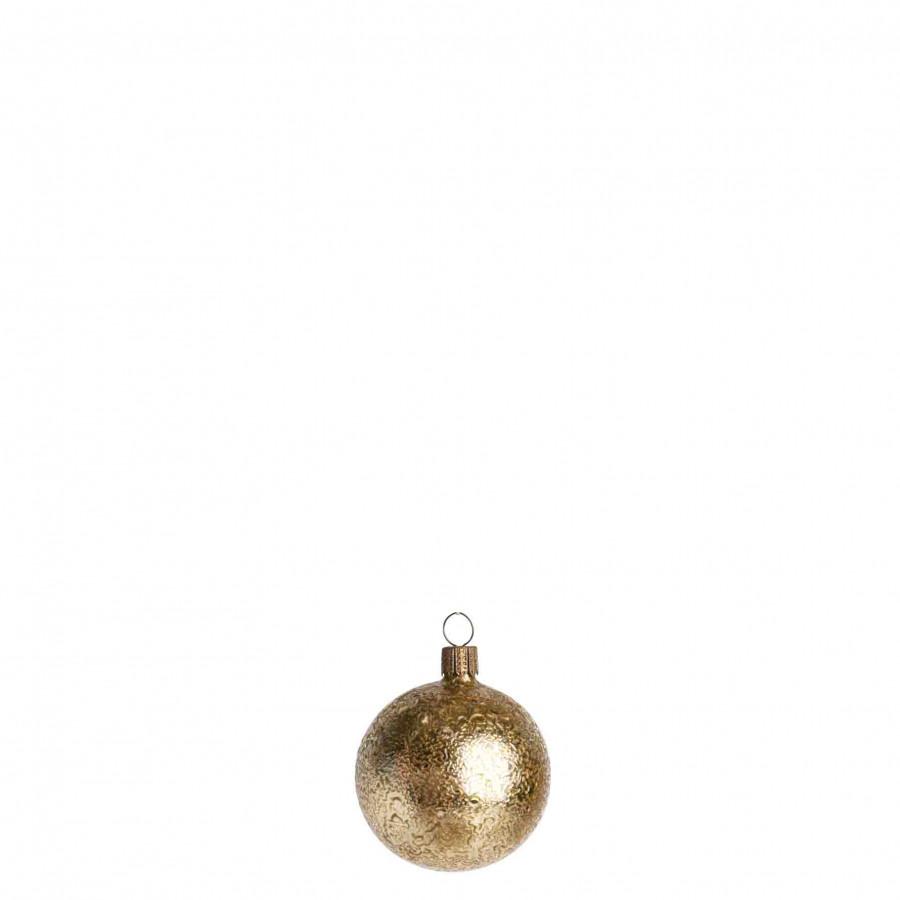 Pallina craquelet oro d6 cm