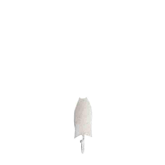 White iron fish hook h13 cm