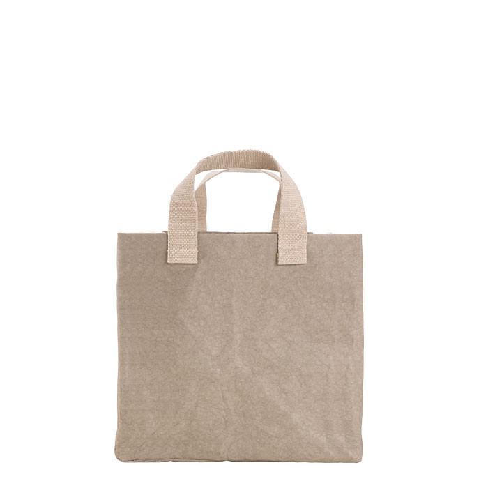 Cellulose fiber bag linen color 30x30 h33 cm