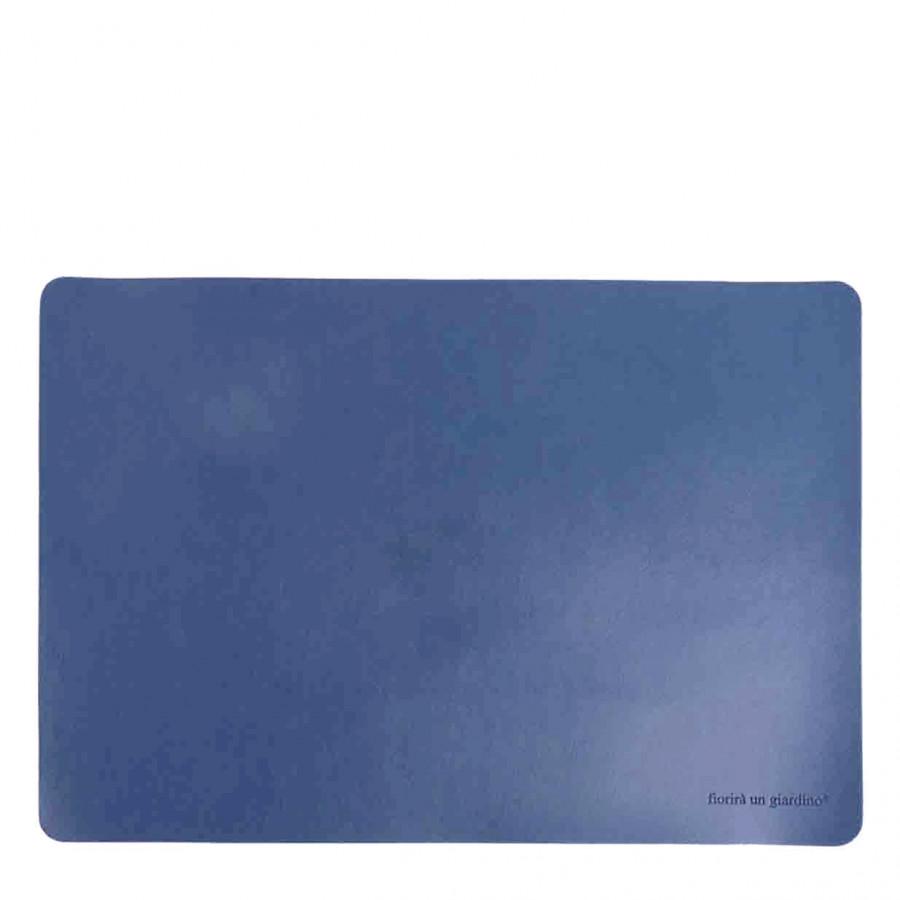 Tovaglietta similpelle azzurro polvere 32 x 45 cm