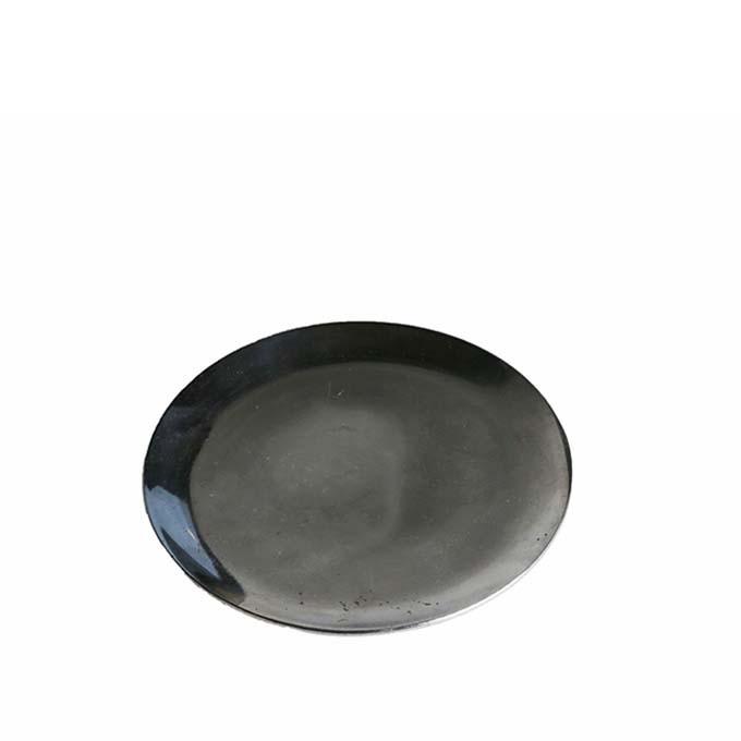 Piattino alluminio lucido tondo d12 cm