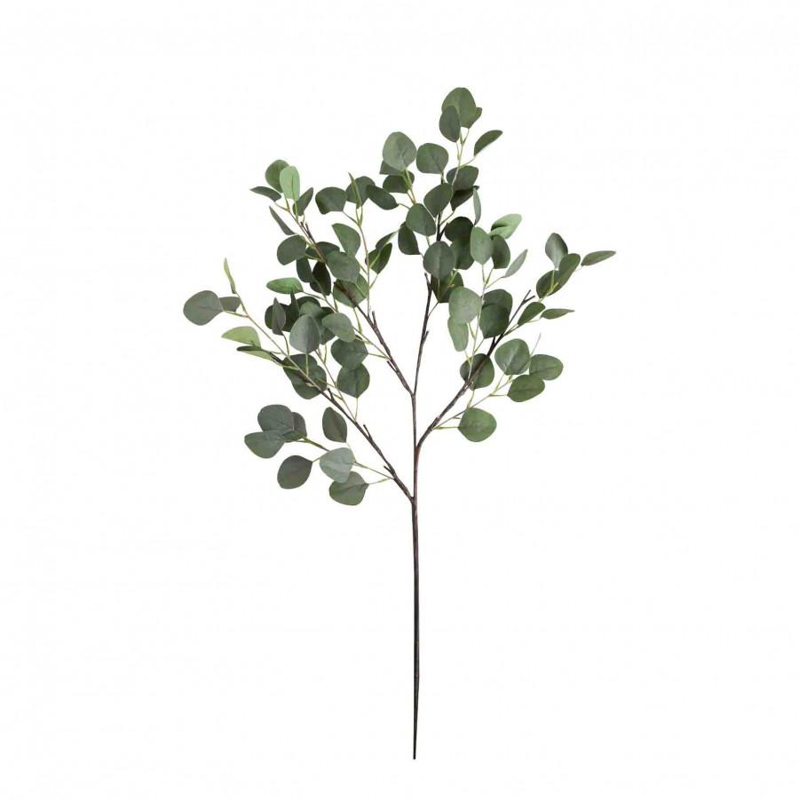 Branche eucaliptus avec 16 led et batterie h100cm