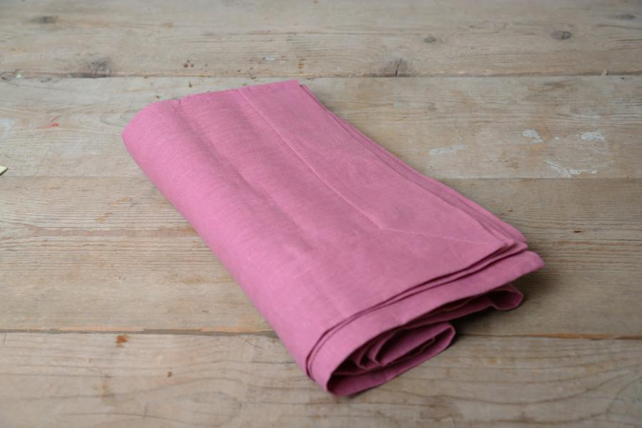 100% linen tablecloth 160x270 cm