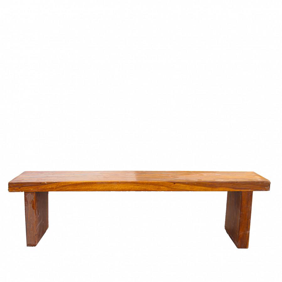 Panca legno massiccio 29 x 160 h46 cm