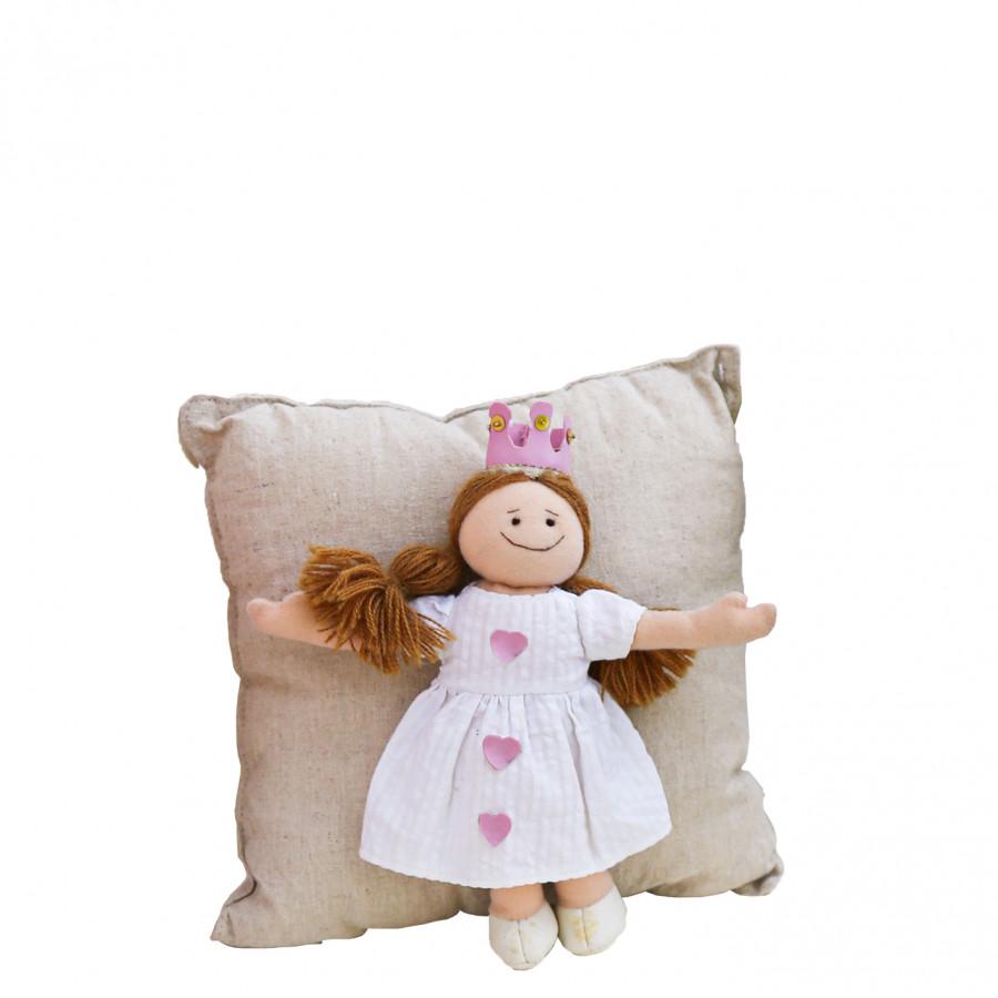 Cuscino principessa 24 x 24 cm